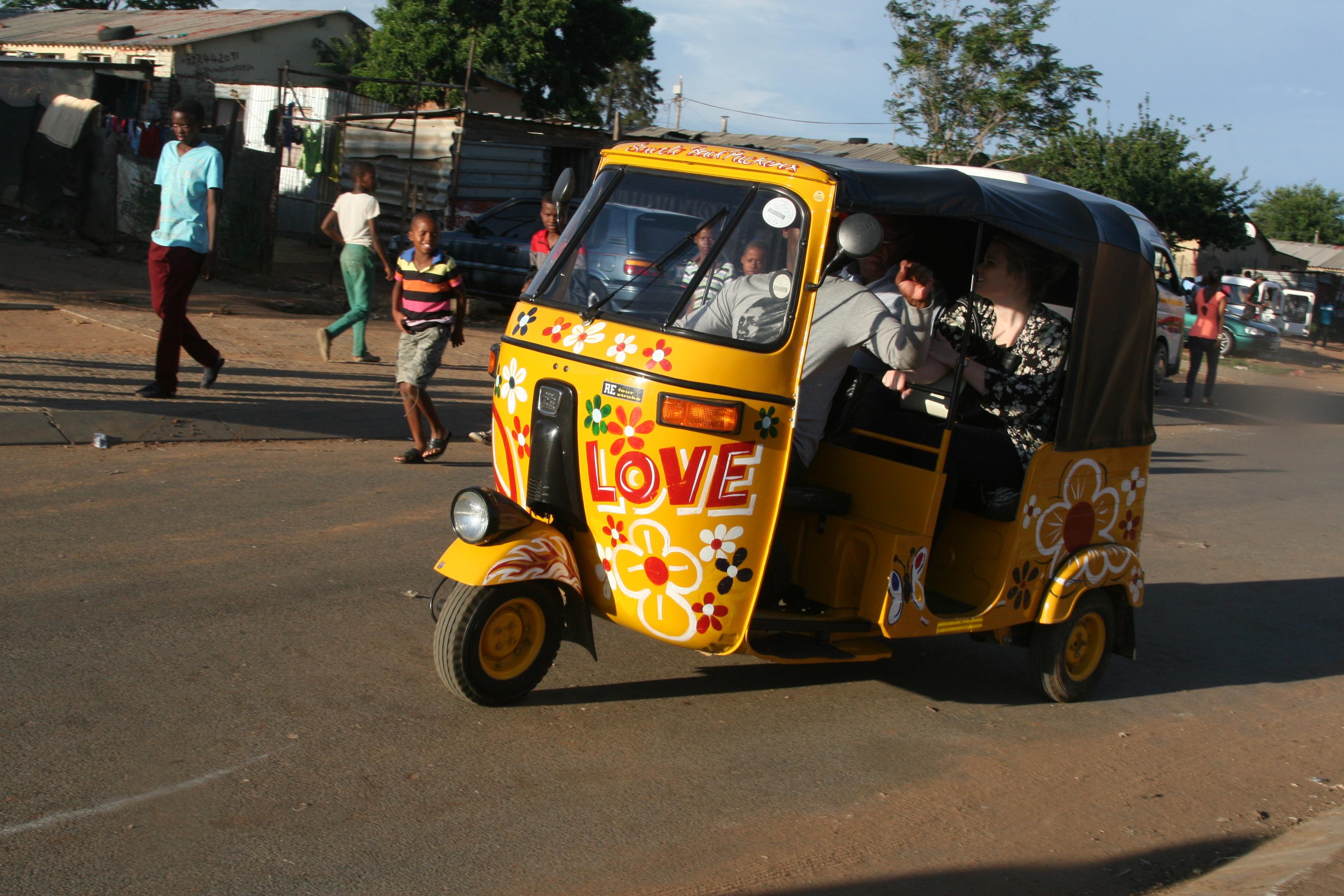 Soweto Tuk Tuk Tour 4 hours