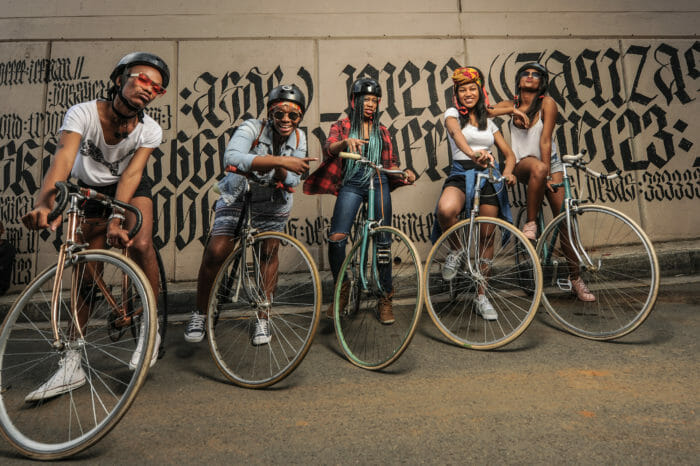 Braam street art and bike tour