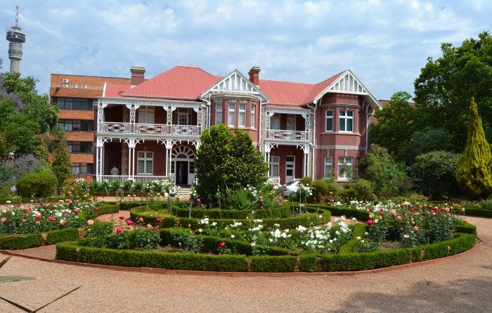 Tour of the 1897 house (Joburg's Oldest) called 'The View'